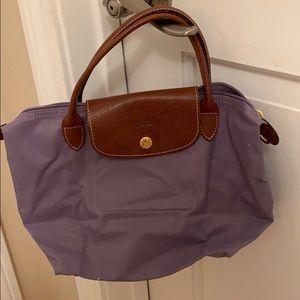 Small purple Longchamp